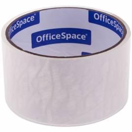 Клейкая лента упаковочная OfficeSpace, 48мм*15м, 38мкм, ШК