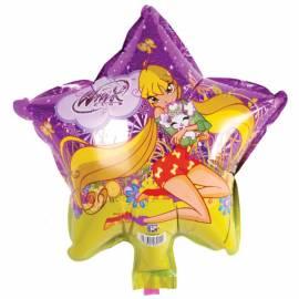 """Воздушные шары, 23см, Winx """"Звезда"""""""