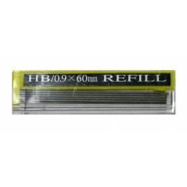 Грифели для механических карандашей Hankook, 12шт., 0,9мм, HB