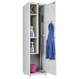 Шкаф для раздевалок хозяйственный Практик LS 11-50, 1900*(1830)*500*500, 1 секция