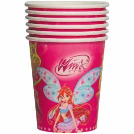 Стаканы бумажные Winx, 210мл, 6шт., европодвес