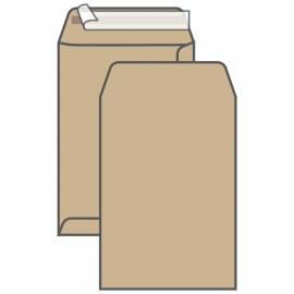 Пакет почтовый C4, UltraPac, 229*324мм, коричневый крафт, отр. лента, 90г/м2