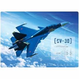 """Настольное покрытие детское ArtSpace """"Военные самолеты"""", 24*33,5см"""