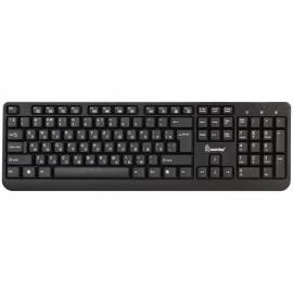 Клавиатура Smartbuy ONE 208, USB мультимедийная, черный