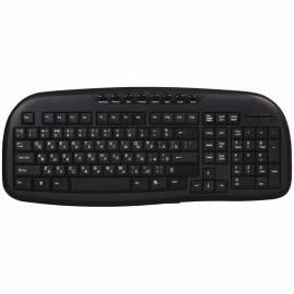 Клавиатура Smartbuy 205, USB мультимедийная, черный