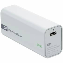 Зарядное устройство GP PowerBank GP1C02AWЕ 2600mAh белый