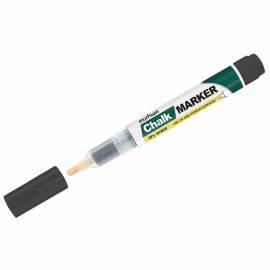"Маркер меловой MunHwa ""Chalk Marker"" черный, 3мм, спиртовая основа, пакет"