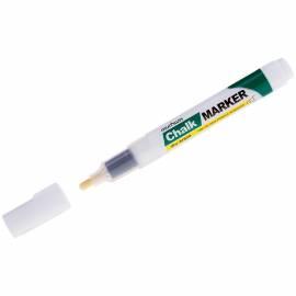 """Маркер меловой MunHwa """"Chalk Marker"""" белый, 3мм, спиртовая основа, пакет"""