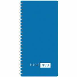 """Телефонная книга А5, 80л., на гребне OfficeSpace """"Офис. Monocolor"""", с высечкой"""