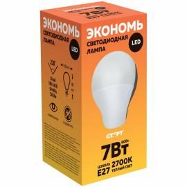 Лампа светодиодная Старт ECO LED GLS E27, 7W30