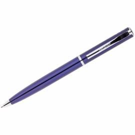 "Ручка шариковая Berlingo ""Silver Standard"" синяя, 0,7мм, корпус синий, поворот., инд. упак."