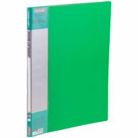 """Папка с 10 вкладышами Berlingo """"Standard"""", 9мм, 600мкм, зеленая"""