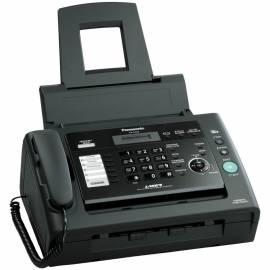 Факс лазерный Panasonic KX-FL423RUB, А4, АОН, спикерфон, 100 номеров, черный