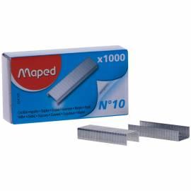 """Скобы для степлера №10 Maped """"Standard"""", никелированные, 1000шт."""