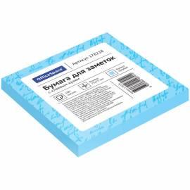 Самоклеящийся блок OfficeSpace, 75*75мм, 100л, голубой