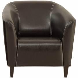 """Кресло для отдыха МФ Виско """"Остин"""", кожзам Oregon Euro черный"""