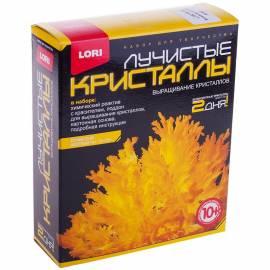 """Набор для выращивания кристаллов Lori """"Лучистый желтый"""", от 10-ти лет"""