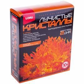 """Набор для выращивания кристаллов Lori """"Лучистый оранжевый"""", от 10-ти лет"""