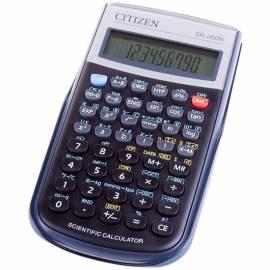 Калькулятор научный Citizen SR-260N, 10+2 разр., 165 функц., пит. от батарейки, 149*70*12мм, черный