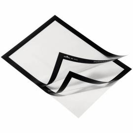 "Самоклеящаяся информационная магнитная рамка Durable ""Magaframe"" А5, черная"