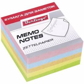 """Блок для записи Berlingo """"Standard"""", 9*9*4,5см, цветной"""