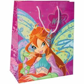 Пакет подарочный 26*32,4*12,7см, Winx, с глиттером