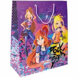 Пакет подарочный 40,6*48,9*19см, Winx, горячая штамповка