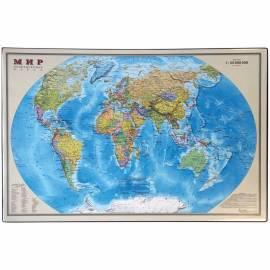 """Настольное покрытие OfficeSpace """"Карта мира"""", 38*59см"""