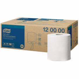 "Протирочная бумага в рулонах Tork ""Reflex""(M4) ЦВ, 1 слойн., 270м/рул, белый"