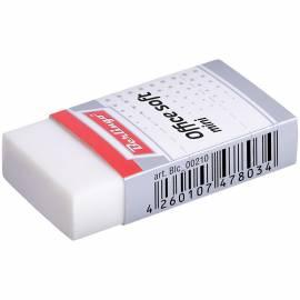 """Ластик Berlingo """"Office soft"""" мини, прямоугольный, термопластичная резина, 40*20*10мм"""