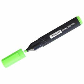 Текстовыделитель OfficeSpace зеленый, 1-4мм