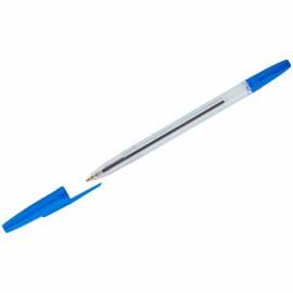 """Ручка шариковая Стамм """"111 Офис"""" синяя, 0,7-1,0мм, тонированный корпус"""