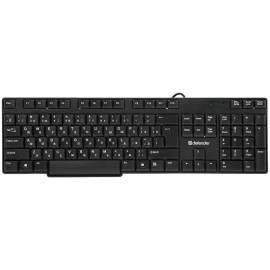 Клавиатура Defender Accent 930, USB, черный, влагозащита