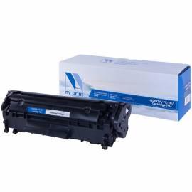 Картридж совм. NV Print Q2612A/FX-10/Cartr 703 черный для HP 1010/1012/1022/3015, Canon MF4010/4018