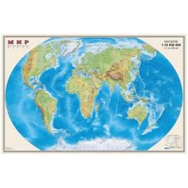 """Карта """"Мир"""" физическая DMB, 1:35млн., 900*580мм, матовая ламинация"""