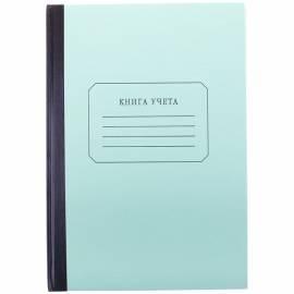 Книга учета OfficeSpace, А4, 96л., линия, твердый картон, блок газетный