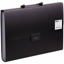 Папка-портфель 7 отделений OfficeSpace, 700мкм, черный