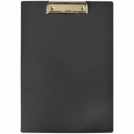 Планшет с зажимом OfficeSpace А4, пластик, черный