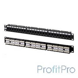"""Hyperline PP-19-24-6P4C-C2 Патч-панель 19"""", 1U, 24xRJ-12, телефонная"""