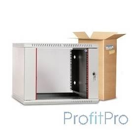 ЦМО! Шкаф телеком. настенный разборный 9U (600х520) дверь стекло (ШРН-Э-9.500) (1 коробка)