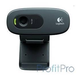 960-001063/960-000636 Logitech HD Webcam C270, USB 2.0, 1280*720, 3Mpix foto, Mic, Black