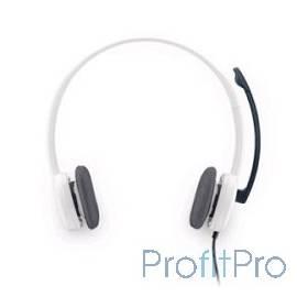 Logitech Stereo Headset (Borg) H150 981-000350 white