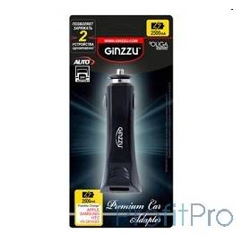 GINZZU GA-4212UB, АЗУ 5В/2.5A, 2USB, для APPLE, Samsung, BlackBerry, HTC