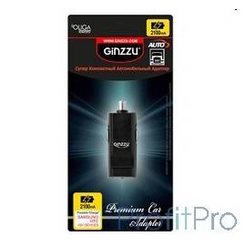 GINZZU GA-4310UB, АЗУ 5В/2.1A, 1 х USB, для Samsung, HTC