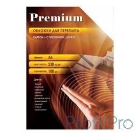 "Office Kit Обложки CWA400230/A4230G (А4, 230 г/м2, ""кожа"" белые 100 шт.)"