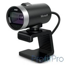 Microsoft LifeCam Cinema HD USB 2.0, 1280x720, 7Mpix foto, автофокус, Mic, Black/Silver (H5D-00015)
