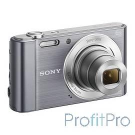 """Sony CYBER-SHOT DSC-W810 [DSCW810S.RU3] Silver 16.1Mpix,8x opt zoom,2.7""""LCD"""