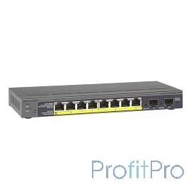 NETGEAR GS110TP-200EUS Управляемый гигабитный Smart-коммутатор на 8GE+2SFP портов