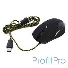 Oklick 765G черный Мышь оптическая (1600/2400dpi) USB игровая (6but) [945841 ]