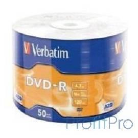 Verbatim Диски DVD-R 4.7Gb, 16-x Data Life (50 шт) (43791)